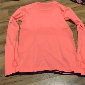 lululemon long sleeve size 6